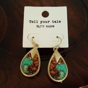 2 for $20 Teardrop Tell your tale Earrings